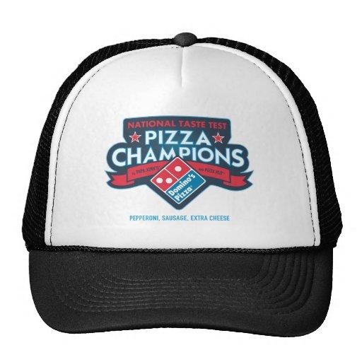 A pizza nacional patrocina o chapéu do camionista boné