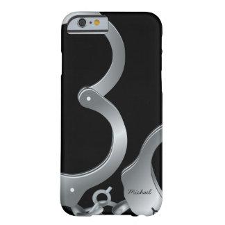 A polícia algema o caso engraçado do iPhone 6 Capa Barely There Para iPhone 6