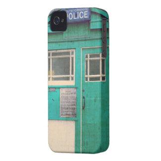 a polícia antiquado telefona à caixa capinha iPhone 4