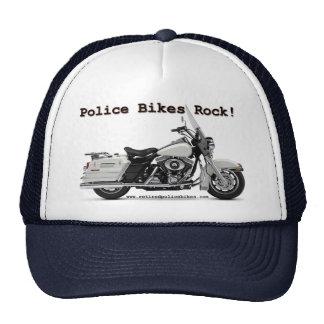 A polícia Bikes o chapéu da rocha Boné