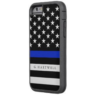 A polícia conhecida feita sob encomenda embandeira capa tough xtreme para iPhone 6