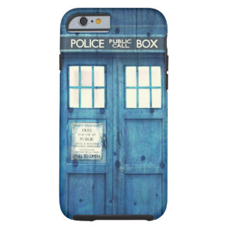 A polícia do vintage telefona à caixa de chamada capa tough para iPhone 6