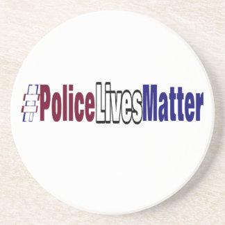 # a polícia vive matéria porta-copos de arenito