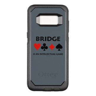 A ponte é ternos intelectuais de um cartão do jogo capa OtterBox commuter para samsung galaxy s8