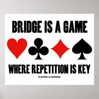 A ponte é um jogo onde a repetição seja chave poster