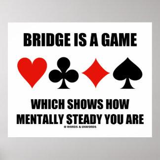 A ponte é um jogo que mostre como mentalmente poster