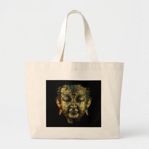 A porca jovem Buddha antigo enfrenta presentes por Bolsa Para Compra