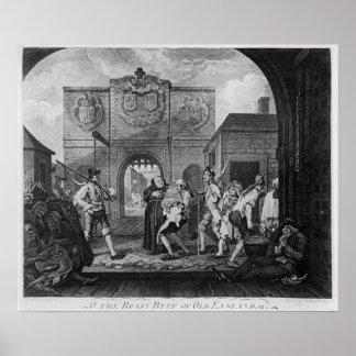 A porta de Calais, ou O a carne assada Impressão