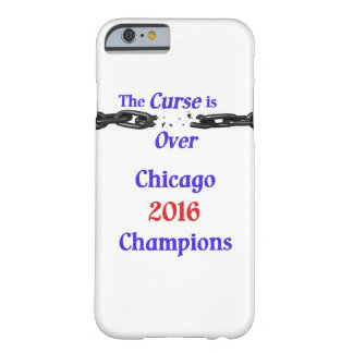 A praga dos campeões de Chicago 2016 está sobre o Capa Barely There Para iPhone 6