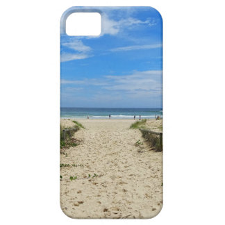 À praia capa barely there para iPhone 5