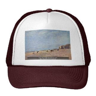 A praia em Rhyl por Cox D. Ä. David Boné