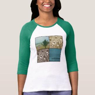 A praia sonha o t-shirt do Raglan