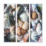 A praia tropical descasca canvas da fotografia impressão em canvas