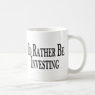 A preferencialmente esteja investindo caneca