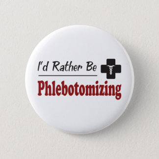 A preferencialmente Phlebotomizing Bóton Redondo 5.08cm