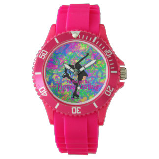 """A """"preferencialmente seja relógio cor-de-rosa"""