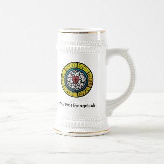 A primeira caneca de cerveja dos Evangelicals