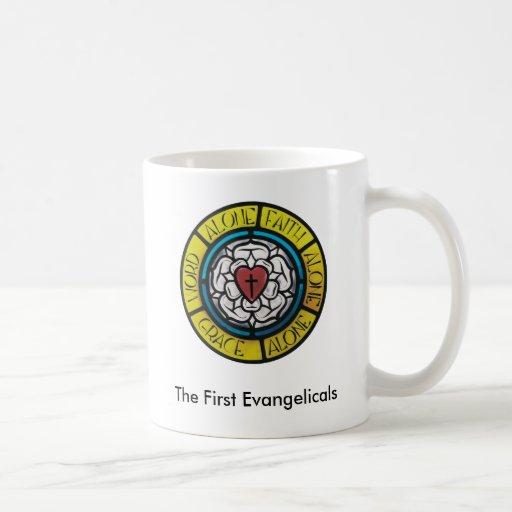 A primeira caneca dos Evangelicals