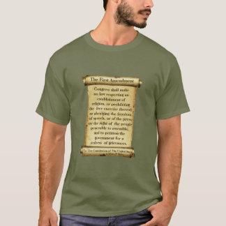 A Primeira Emenda - uma camisa de MisterP