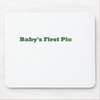 A primeira imagem do bebê os presentes de Zazzle d Mousepad