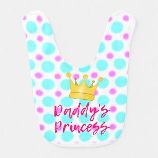 A princesa Bebê Babador do pai