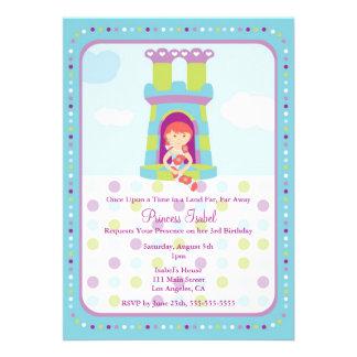 A princesa bonito festa de aniversário de Rapunzel
