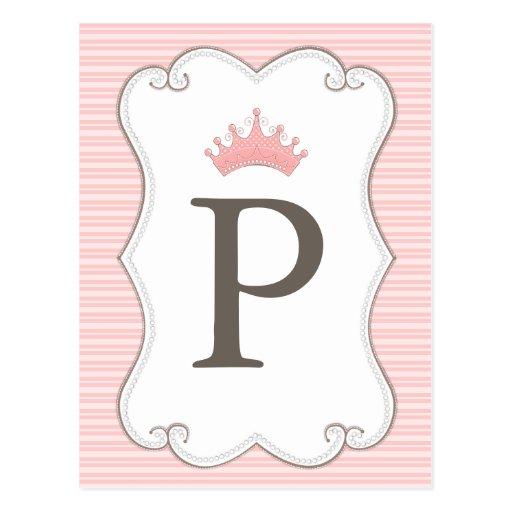 A princesa festa de aniversário faz seus próprios  cartoes postais