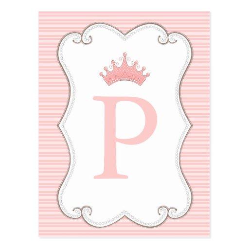 A princesa festa de aniversário faz seus próprios  cartões postais