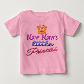 A princesa pequena Bebê Criança T-shirt do Maw do Camiseta Para Bebê