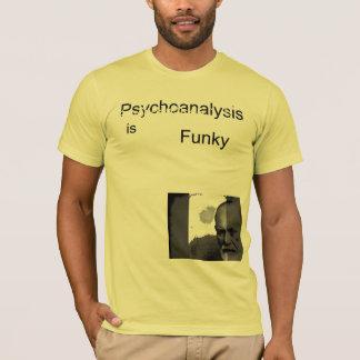 A psicanálise é Funky Camiseta
