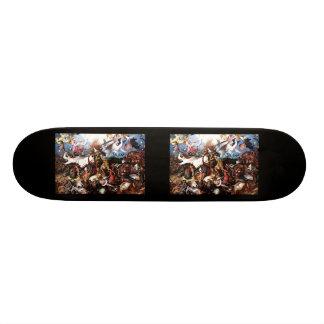 """A queda de Pieter Bruegel """"dos anjos rebelde """" Skates"""