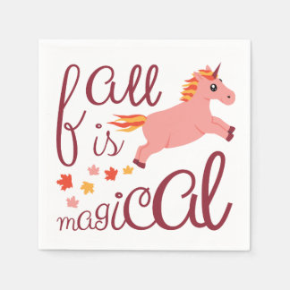 A queda é guardanapo cor-de-rosa mágico do