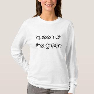A rainha do Snooker verde cita o t-shirt Camiseta