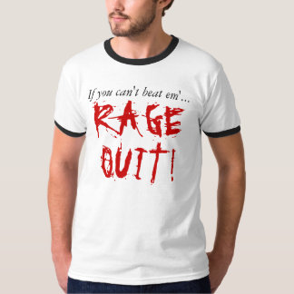 A raiva parou a camisa t-shirt