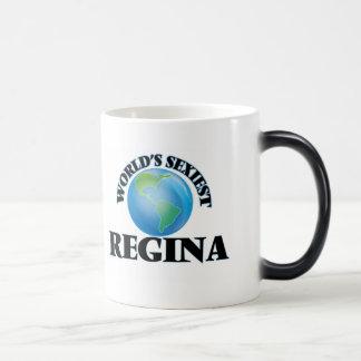 """A Regina a mais """"sexy"""" do mundo Caneca"""