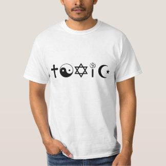 A religião é Freethinker tóxico Tshirt