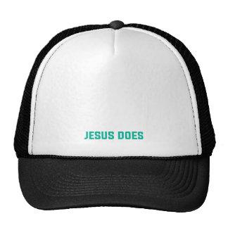 A religião não salvar Jesus faz Boné