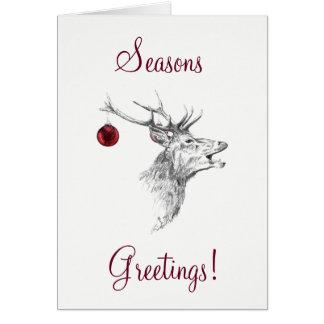 A rena tempera o cartão de cumprimentos