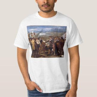 A rendição de Breda ou das lanças por Velázquez T-shirts