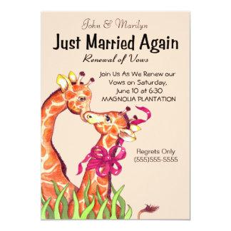 A renovação bonito do casamento jura convites
