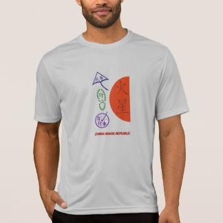 A república de China Marte vai camisa