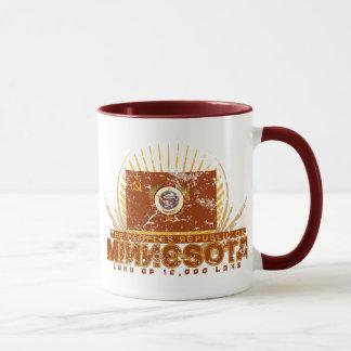 A república de povos da caneca de Minnesota