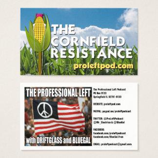A resistência do campo de milho - cartões do Web