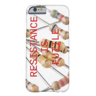 A resistência é capa de telefone inútil