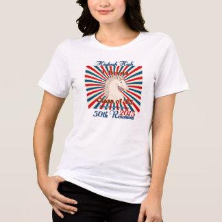 A reunião alta de Hialeah T-Breds 50th relaxou o T T-shirts