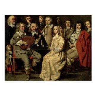 A reunião musical, 1642 cartoes postais