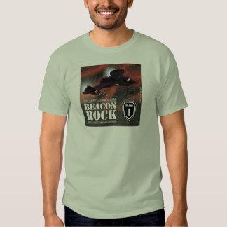 A rocha da baliza camisetas