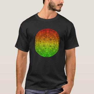 A roda maia pelo ~ alegre de Rastafari não fala Camiseta