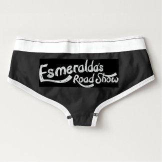 A roupa de baixo da mulher do Roadshow de Calcinha Boyfriend