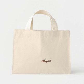 A sacola branca de Abigail Bolsa Para Compras